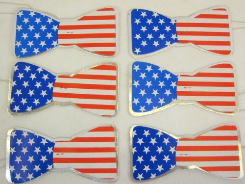 USA Party Bowties 100 Pack United States of America